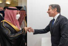 صورة وزير الخارجية السعودي يبحث مع نظيره الأمريكي تطورات أفغانستان