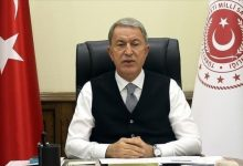 صورة وزير الدفاع التركي يتعهد بإبقاء مطار كابل الدولي مفتوحا