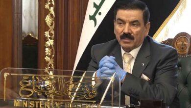 صورة وزير الدفاع العراقي يشارك في معرض الصناعات العسكرية العالمي بأنقرة