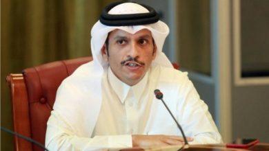صورة وزير خارجية قطر يبدأ زيارة إلى الأردن يلتقي خلالها كبار المسؤولين