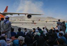 صورة و. بوست: العثور على بقايا بشرية بعجلة طائرة عسكرية قادمة من كابل (فيديو)
