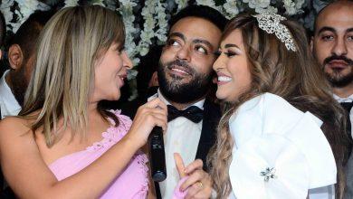 صورة تفاصيل زواج نيللي كريم من هشام عاشور