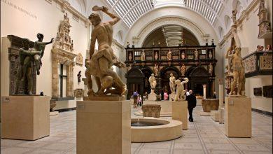 صورة اول متحف عام في بريطانيا