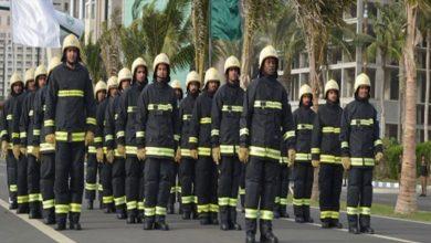 صورة ما الطول المطلوب في الدفاع المدني