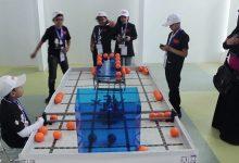 صورة مسابقة الروبوكوب هي لتنفيذ عدة مهام محددة من متسابق فردي صواب خطأ