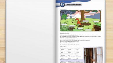 صورة حل كتاب الانجليزي ثاني متوسط ف1