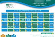 صورة أوقات الحصص الدراسية السعودية 1443 لكافة المراحل التعليمية