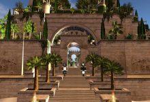 صورة من هو منشئ حدائق بابل المعلقة؟