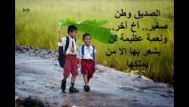 صورة عبارات توديع صديق عمل باللغة العربية والانجليزية مكتوبة
