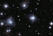 صورة معلومات عن الغازات التي تشكل النجوم