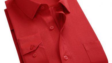 صورة حكم لبس اللون الأحمر للرجال
